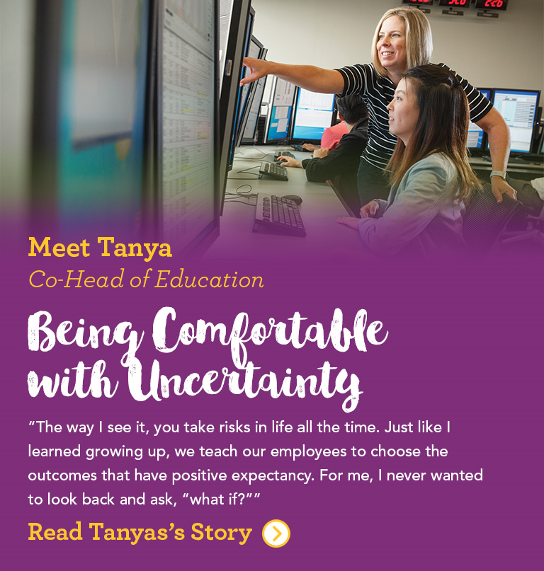 Meet Tanya Co-Head of Education