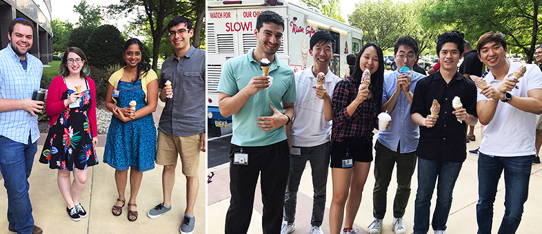 SIG surprises our employees with ice cream