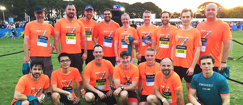 SIG Sydney participates in the J.P. Morgan Corporate Challenge® 2017
